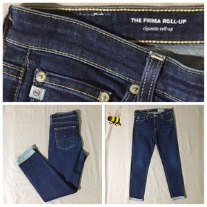 AG Adriano Goldschmied Prima Roll Up Size 28R